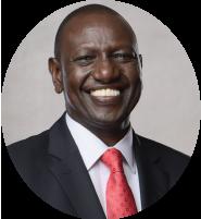H.E William Ruto PhD. EGH, EBS