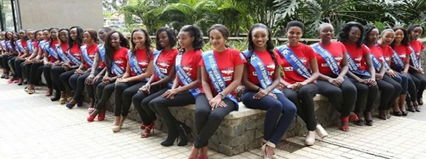 contestants for the miss tourism for counties
