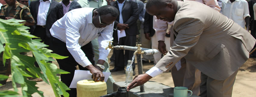governor alex tolgos commissioning of water project kerio valley
