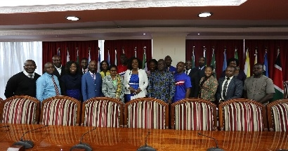 Liberia on a Peer to Peer Learning at the Council of Governors