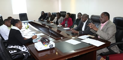THE UNION OF KENYA CIVIL SERVANTS PAYS A COURTESY CALL TO THE COUNCIL OF GOVERNORS