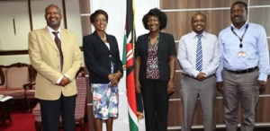 Kenya Tourism Board CEO pays a Courtesy Call to the Council of Governors