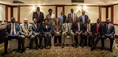 Melinda Gates meets Governors