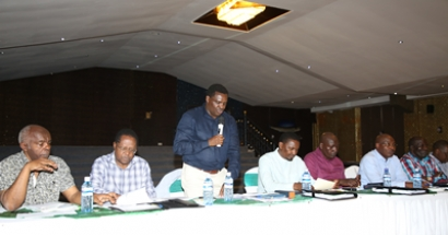 CONSULTATIVE MEETING BETWEEN THE COUNCIL OF GOVERNORS AND THE MINISTRY OF AGRICULTURE