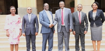 COUNCIL OF GOVERNORS EXECUTIVE PAY A COURTESY CALL TO THE CHIEF JUSTICE