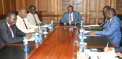 COG pays a Courtesy call to the Chief Justice of the Republic of Kenya