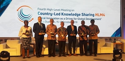 4TH HIGH-LEVEL MEETING ON COUNTRY-LED KNOWLEDGE SHARING, BALI-INDONESIA