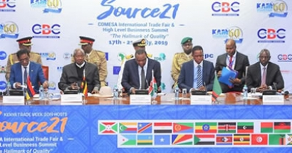 The Inagural 21 Comesa International Trade Fair